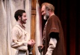 Sean Hudock and Sherman Howard in THE LION IN WINTER. Photo by Gerry Goodstein.