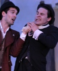 Matthew Simpson & Sean Hudock in THE COMEDY OF ERRORS. Photo by Gerry Goodstein