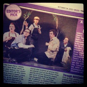 Titan Theatre Company's 'Midsummer' named an Editor's Pick!