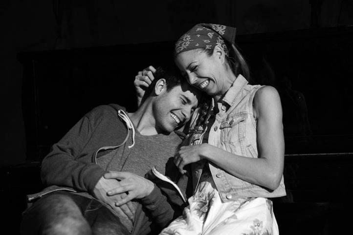 Sean Hudock & Autumn Kioti in SHE CALLS ME FIREFLYPhoto by John Quilty