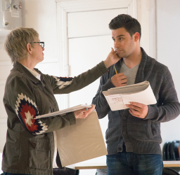 Photos: In Rehearsal for 'DEEPLY SUPERFICIAL' First Look at La MaMa with Sean, Ellen Foley & David Garrison